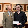 International student winners of the Francis Tyau and Eleanor Blackburn scholarships at SUNY Buffalo State.
