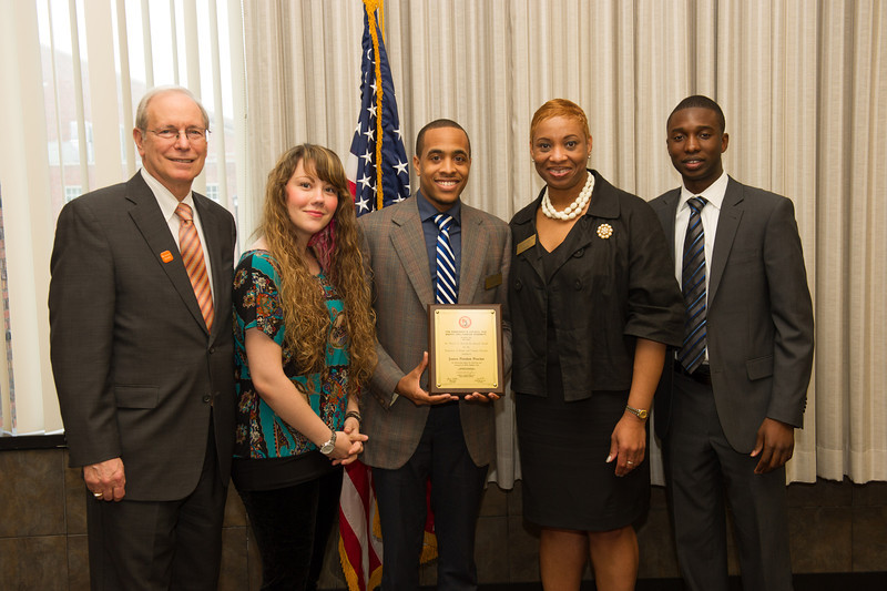 Diversity Awards ceremony at SUNY Buffalo State.