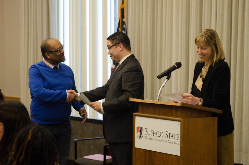 SUNY Buffalo State's Faculty Awards.