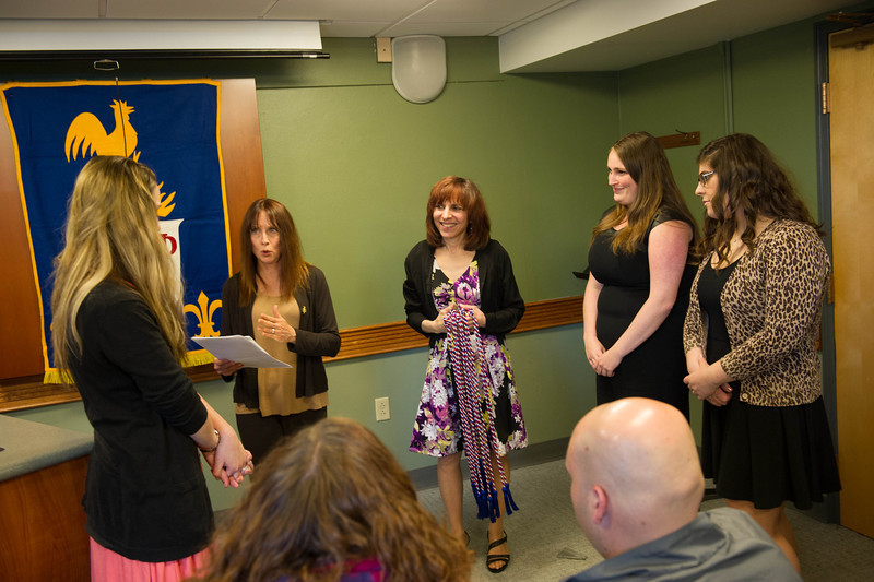 French Awards ceremony at SUNY Buffalo State.