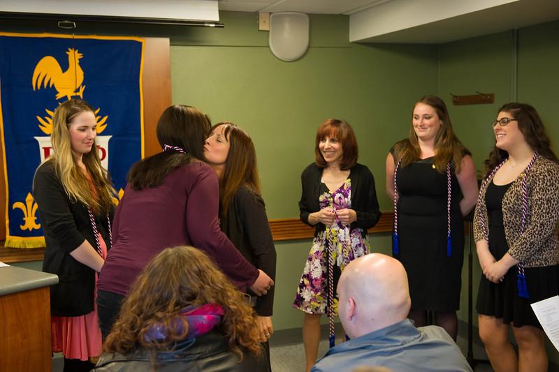 French Awards ceremony at SUNY Buffalo State.