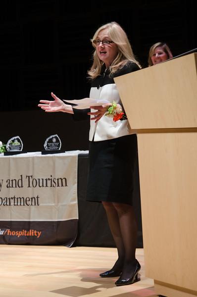 Hospitality and Tourism Awards ceremony.