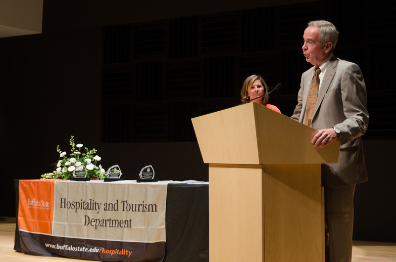 Hospitality and Tourism Awards ceremony.