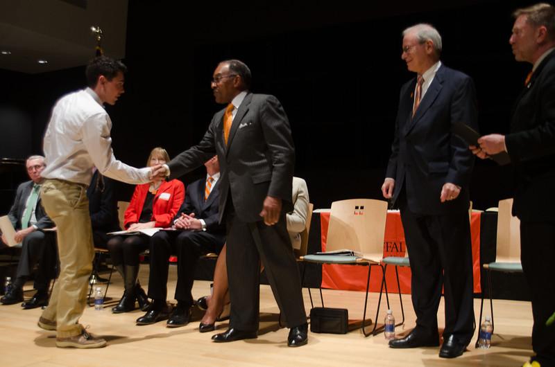 Student Leadership Awards ceremony at SUNY Buffalo State.