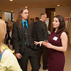 Masters Thesis Awards dinner at SUNY Buffalo State.