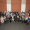 Summer Research Fellowship winners group photo during  Research Foundation Awards reception at SUNY Buffalo State.