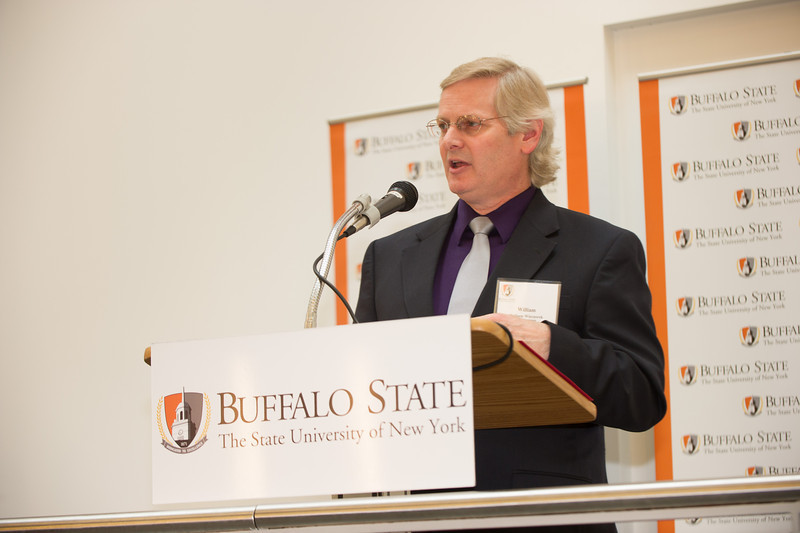 Research Foundation Awards reception at SUNY Buffalo State.