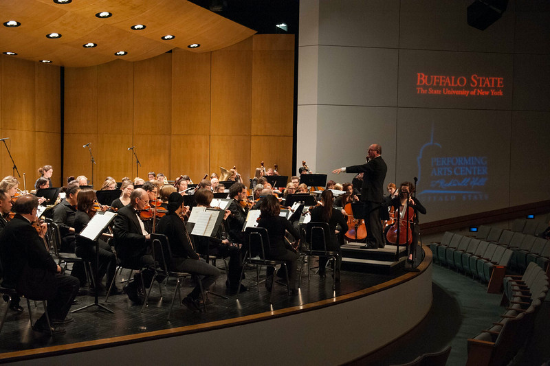 Philharmonia and chorale concert at SUNY Buffalo State.