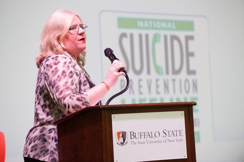 Buffalo State Cares presentations during Mental Health Awareness Week.