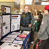 Tables in Union during Mental Health Awareness Week at SUNY Buffalo State.