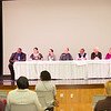 Suicide prevention panel discussion during Mental Health Awareness Week at SUNY Buffalo State.