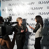 Runway 7.0 step and repeat photos at SUNY Buffalo State.