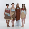 Student fashion designer collections at Runway 7.0 Fashion Show at SUNY Buffalo State.