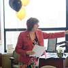 Teacher of the year awards ceremony.