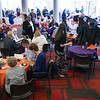 Reception following 10am Undergraduate Commencement at SUNY Buffalo State.