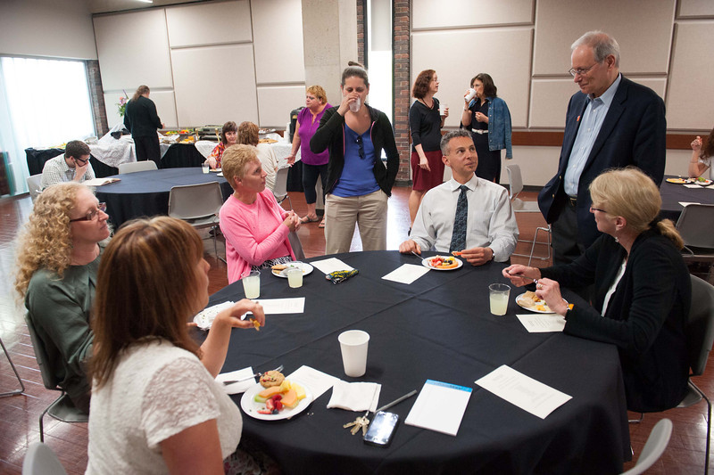 Degree Works completion reception at SUNY Buffalo State