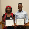 Volunteer and Service Learning awards ceremony at SUNY Buffalo State.