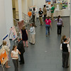 Graduate research poster session at SUNY Buffalo State.