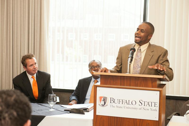 Buffalo State Challenge awards luncheon.