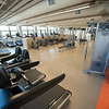 Student Fitness Center in newly renovated Houston Gym at SUNY Buffalo State.