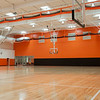 Gymnasium in newly renovated Houston Gym at SUNY Buffalo State.