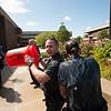 University Police ALS Ice Bucket Challenge at SUNY Buffalo State.