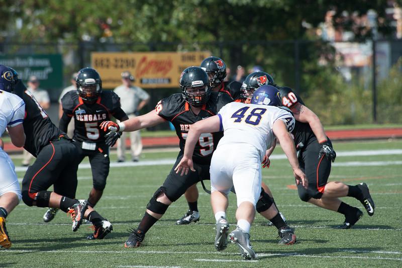 SUNY Buffalo State Homecoming football game vs. Alfred University.