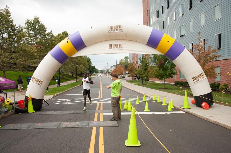 Bengal 5K Run scholarship fundraiser at SUNY Buffalo State.