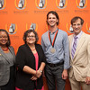 Young Alumnus Achievement Award presentation to Mark Miller, Ph.D. at SUNY Buffalo State.