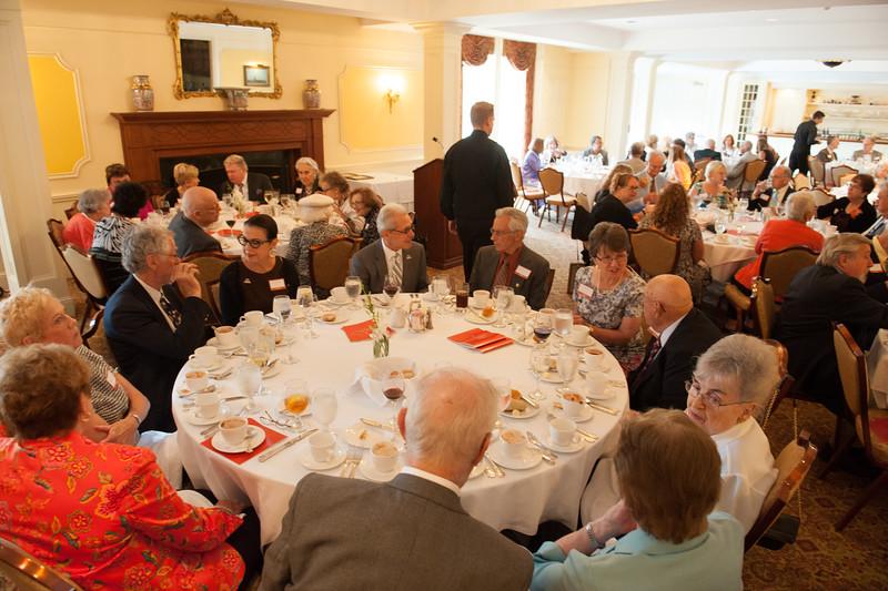 SUNY Buffalo State Peterson Society luncheon.