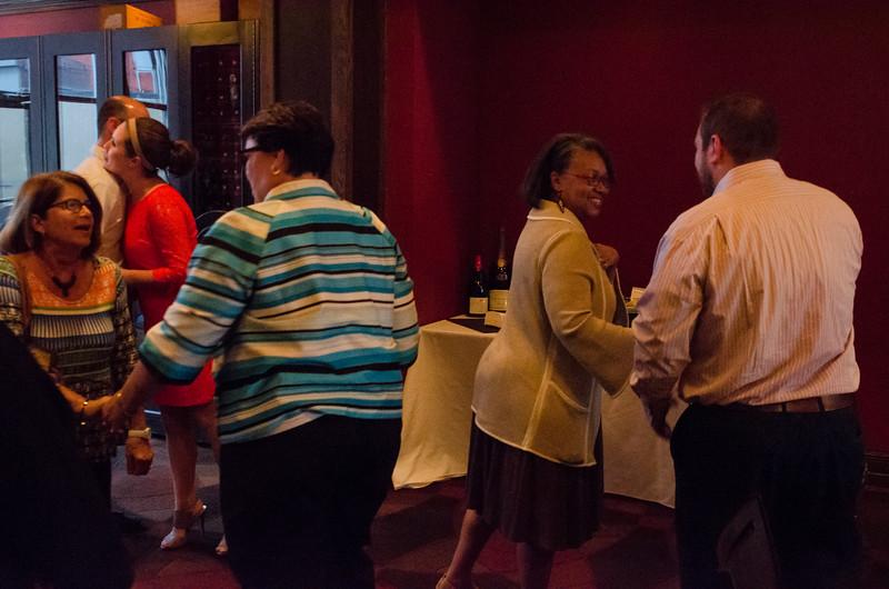 A dinner celebrating the Lamendola scholarship awardees