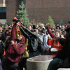 Homecoming Pep Rally at SUNY Buffalo State.