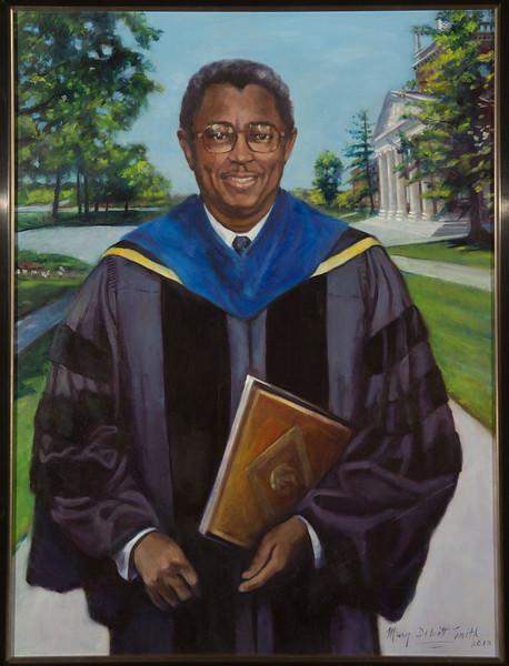 Portrait of Buffalo State College President F.C. Richardson.
