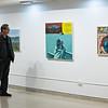 Fine Art Faculty Show at SUNY Buffalo State.