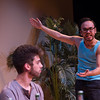 "Student theater production of ""The Motherf**ker with the Hat"" at Buffalo State College."