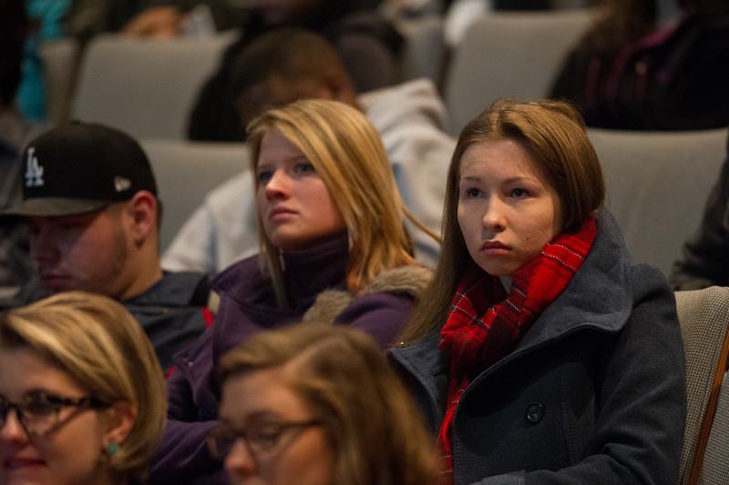 Winter Orientation at SUNY Buffalo State.