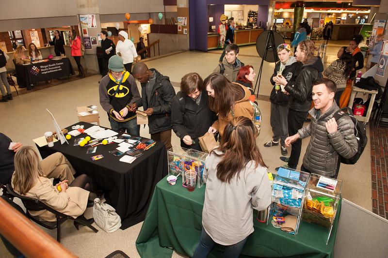 Mental Health Awareness Week activities at SUNY Buffalo State.