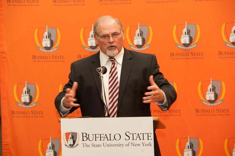 SUNY Initiative press conference at SUNY Buffalo State.
