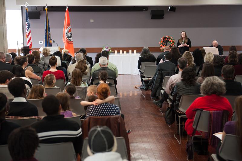 Celebration of Life event at SUNY Buffalo State.