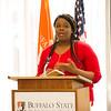Dr. Anna Burrell luncheon at SUNY Buffalo State.