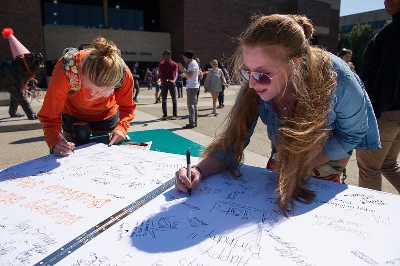 College's 144th Anniversary Celebration in Union Quad at SUNY Buffalo State.