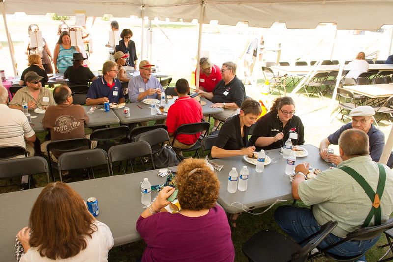 United University Professions (UUP) picnic at SUNY Buffalo State.