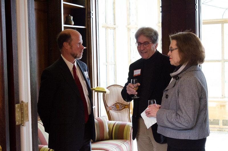 Buffalo State faculty and staff reception at the President's house.