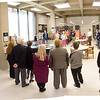 The Unveiling of Creative Studies Founder Alex F. Osborn Exhibit in Butler Library.