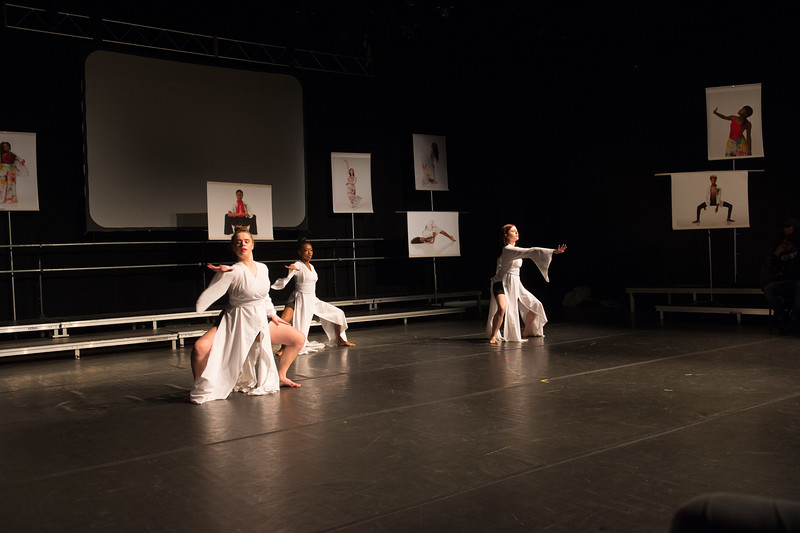 Arts and Humanities capstone presentations and dance performance at Buffalo State Colllege.