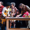 """Student theater production of """"Noises Off"""" at Buffalo State College."""