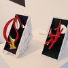 Design Foundations Exhibition in Dr. Margaret E. Bacon Student Gallery at Buffalo State College.