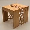 Student project from Sunhwa Kim's Wood Design class at SUNY Buffalo State.