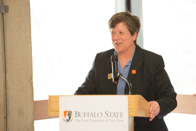 Muriel A. Howard All College Honors lunch at Buffalo State College.