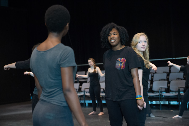 """Premiere performance of """"Hello My Name Is"""" created by the Anne Frank Project students at Buffalo State College."""